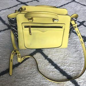 Rebecca Minkoff Mini Tote Leather Bag - Yellow